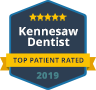 Top Patient Rated Kennesaw Dentist 2017 Badge